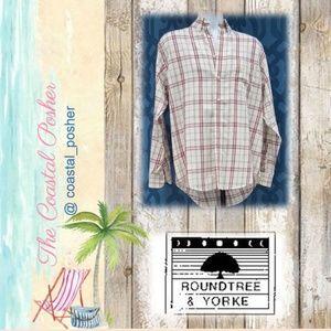 Roundtree & Yorke Full-Fit Button Down Dress Shirt